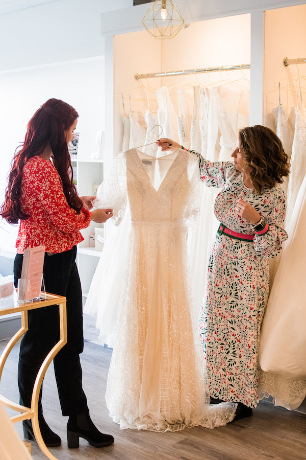 Image for How do I choose which bridal shops to visit?